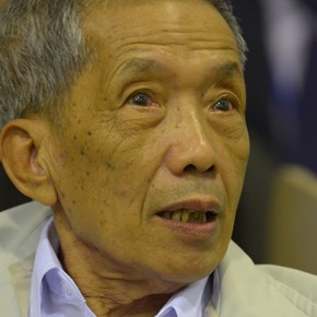 Notorious Khmer Rouge jailer gets life sentence
