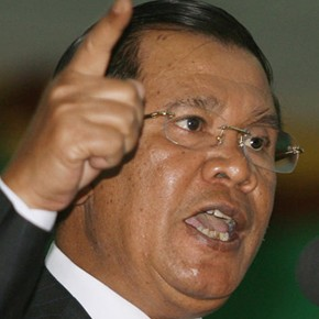 The strings in Hun Sen's rhetorical bow