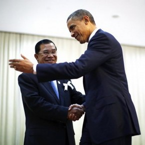 Obama Visits China-Tilting Cambodia