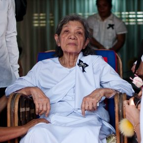 Khmer Rouge's 'first lady,' charged with genocide, dies at 83